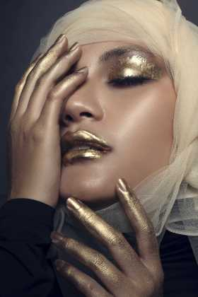 Makeup: Valentina Chang/ Photographer: Muhammad Arifin/ Model: Serpihan Swara
