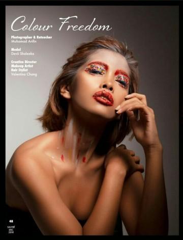 Makeup/Hair/Creative Direction: Valentina Chang/ Photographer: Muhamad Arifin/ Model: Devii Shaleeka